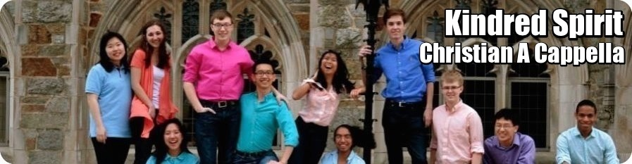 Kindred Spirit - Princeton University's first and only Christian a cappella group